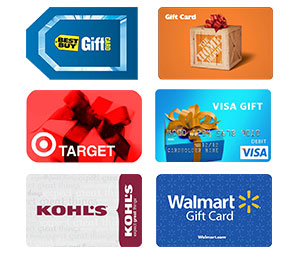 gift cards we buy