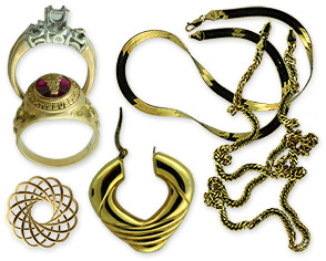 gold, silver & platinum jewelry